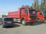 Продаём самосвалы Хово Howo в Омске  6х4 25 тонн ,  2300000 руб в наличии.