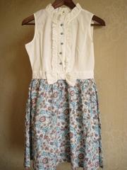 Стильное летнее платье - р. 36-38